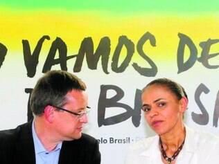 """União. """"Agora não é hora de valorizar a parte, é hora de lutarmos pelo todo"""", disse Marina Silva."""