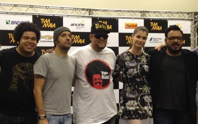 Robson Nunes, Mauro Lima, Babu Santana, Alinne Moraes e Luis Lobianco