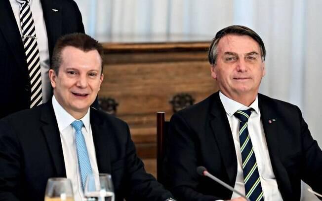 Jair Bolsonaro e Celso Russomanno