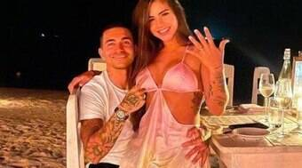 Dudu, ex-Palmeiras, publica declaração de amor para modelo