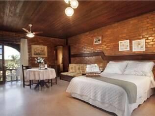 Vinte e quatro suítes oferecem conforto total para quem se hospeda na Villa Valduga, em Bento Gonçalves