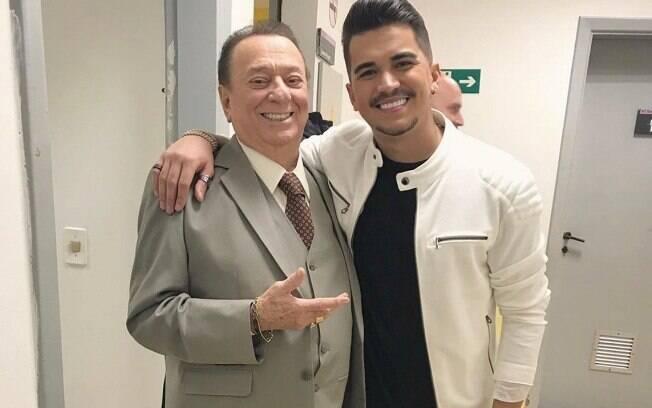 Raul Gil e Gutto Soares
