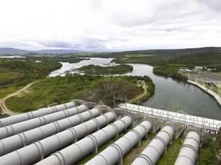 Furnas.  Reservatório, em Minas Gerais, está atualmente com 9,5% da capacidade