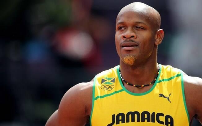 Asafa Powell - jamaicano  testou positivo  para o estimulante oxilofrine e também está fora  do Mundial