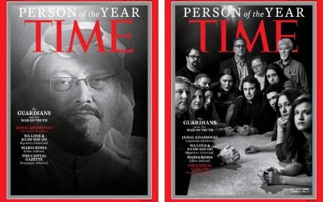 Revista Time escolheu o jornalista saudita e outros profissionais da imprensa como as personalidades do ano de 2018