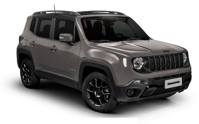 Jeep Renegade Night Eagle chega ao mercado com três opções de cores metálicas e teto rpeto
