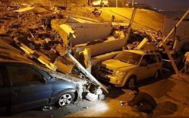 Forte terremoto no Peru causou danos às cidades
