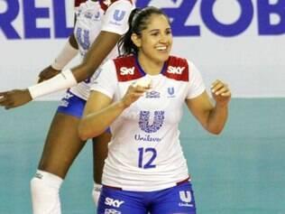 Natália foi um dos destaques da Unilever na última Superliga