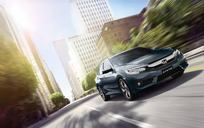 Honda Civic garante a terceira colocação entre os  carros mais vendidos do mundo
