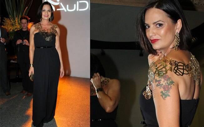 As joias e as tatuagens de Luiza Brunet