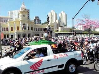 Dia 24/8 terá o Dia do Motociclista e Motopasseio do Jacaré saíndo da praça da Estação às 10h