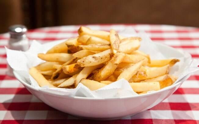 Foto da receita Batata frita pronta.