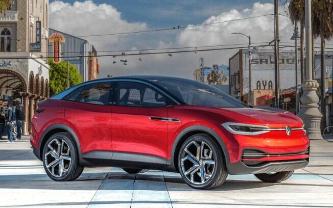 A VW vai apresentar em abril, no Salão de Nova York, o ID Crozz GTX, a versão de alto desempenho e luxuosa da linha de elétricos