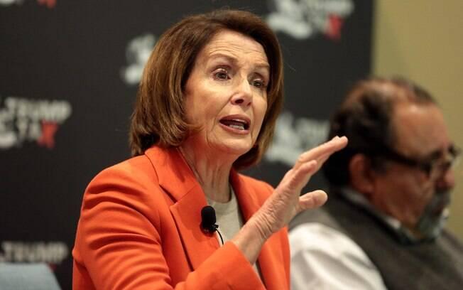 Líder do partido democrata, Nancy Pelosi