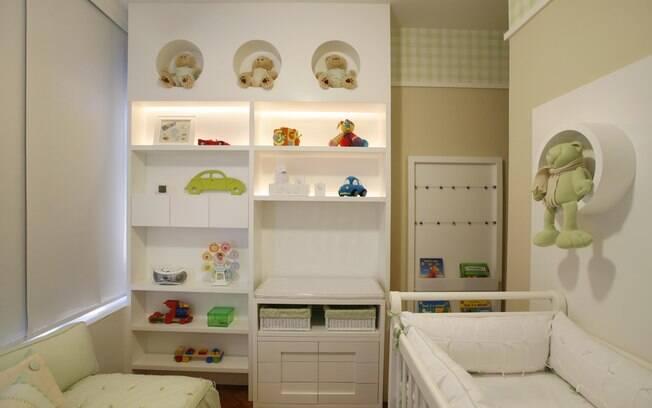 90 ideias para decorar quartos de bebês e crianças  ~ Quarto Planejado De Bebe