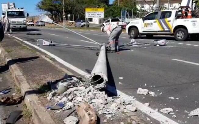 Idoso de 72 anos fica ferido após acidente no Jd. São Gabriel, em Campinas