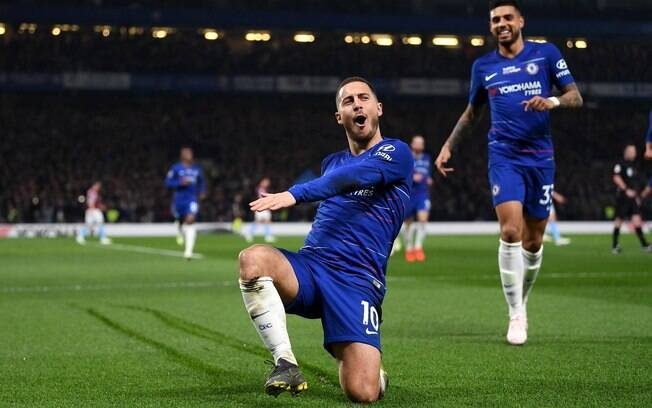 Hazard é o principal jogador do Chelsea nesta temporada, mas deve deixar clube inglês
