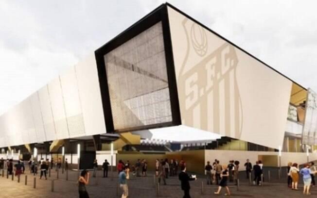 Projeto da nova Vila Belmiro