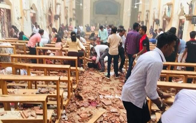 Onda de atentados no Sri Lanka deixou mais de 200 mortos