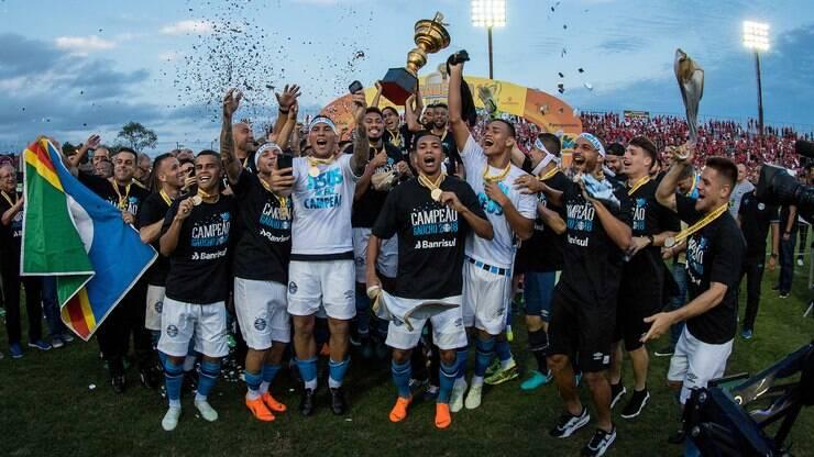 7687cdc5b8a11 Grêmio  todas as informações do time no Brasileirão 2018 - Futebol - iG