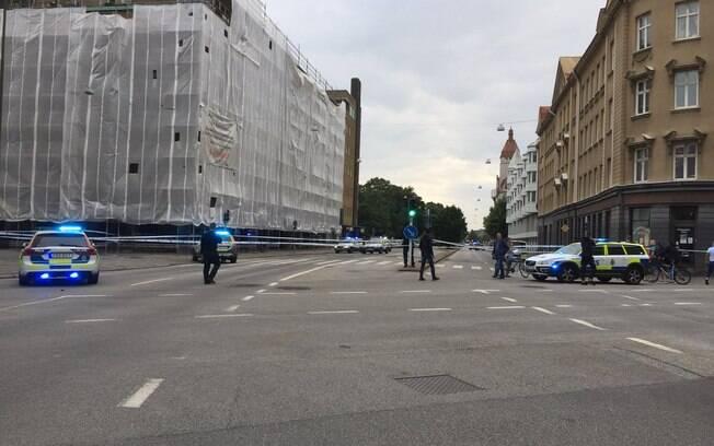 A polícia investiga o motivo da ação na Suécia e pede que a população da região apresentem informações sobre o caso
