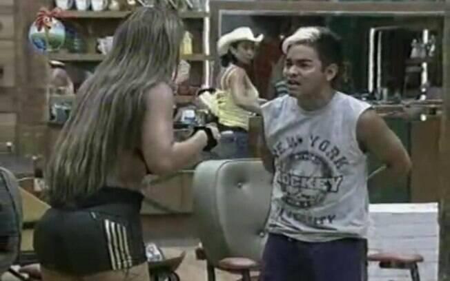 Denise e Yudi discutem mais uma vez