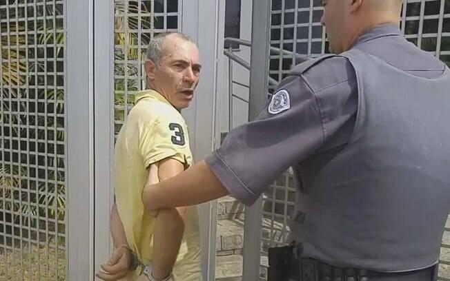 Edvaldo José da Silva é detido por policiais militares na zona norte paulistana: crime de vingança