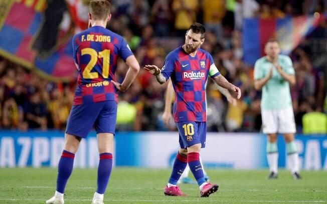 Barcelona vence a Inter de Milão de virada na Champions