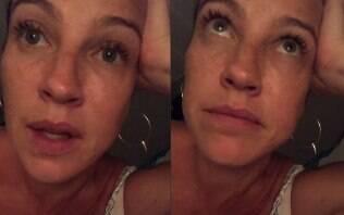 """Luana Piovani conta que passou a virada socorrendo filha: """"Arrasada"""""""