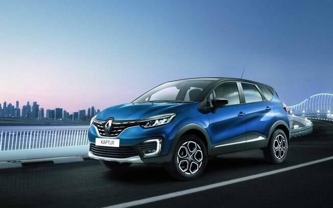 Renault Captur renovado  surge primeiro na Rússia, onde será lançado ainda no primeiro semestre. No Brasil apenas em 2021