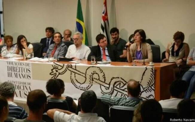 Alunos de medicina da USP denunciaram abusos à Comissão dos Direitos Humanos da Assembleia Legislativa de SP. Foto: Alesp