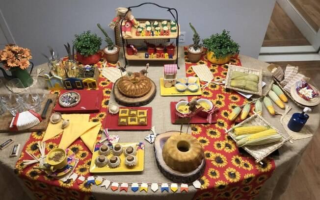 A festa junina pode ser feita em casa e de forma fácil