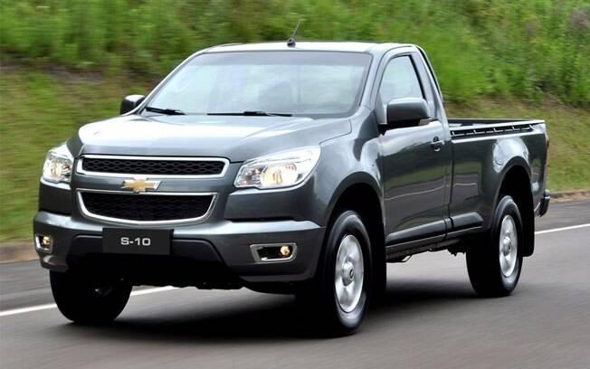 Antiga líder entre as picapes médias, a Chevrolet S10 é uma boa pedida por até R$ 55 mil com até três anos de uso.
