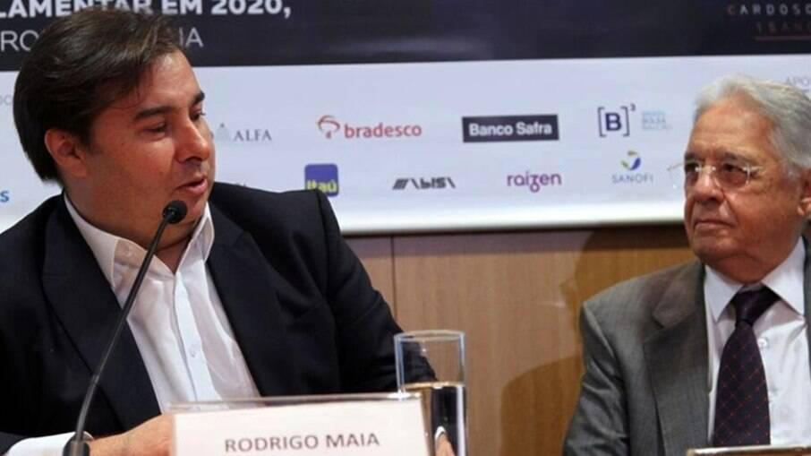 Maia e FHC buscam candidato para vencer Bolsonaro em 2022