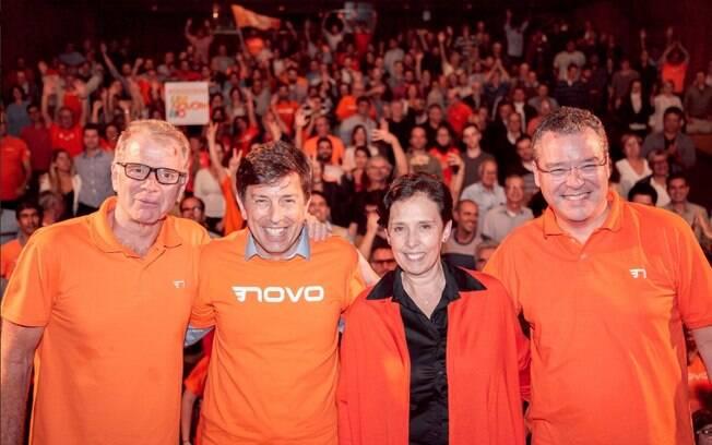 No encontro nacional do Partido Novo, João Almoêdo foi confirmado candidato à Presidência da República