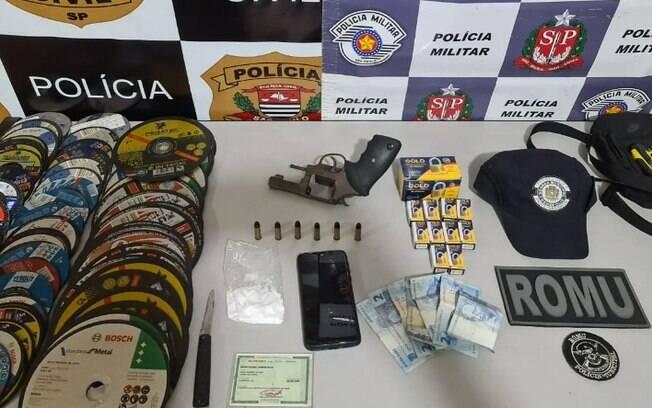 Homem é preso em flagrante após tentar atropelar companheira em Cosmópolis
