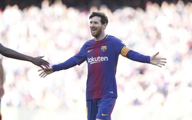 Desde que se profissionalizou no futebol, Lionel Messi só jogou com a camisa do Barcelona