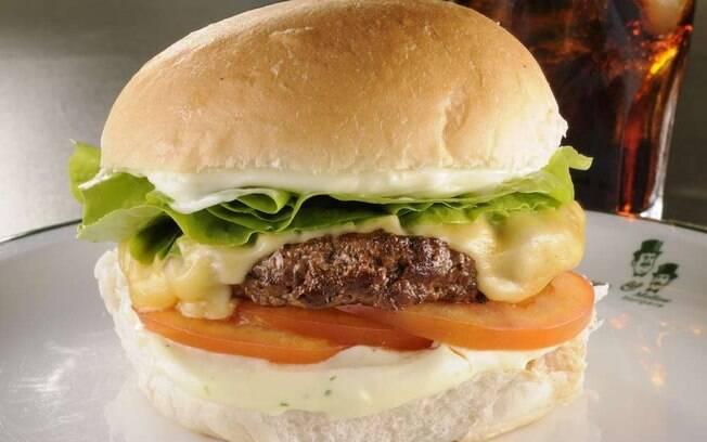 Foto da receita Hambúrguer de picanha pronta.