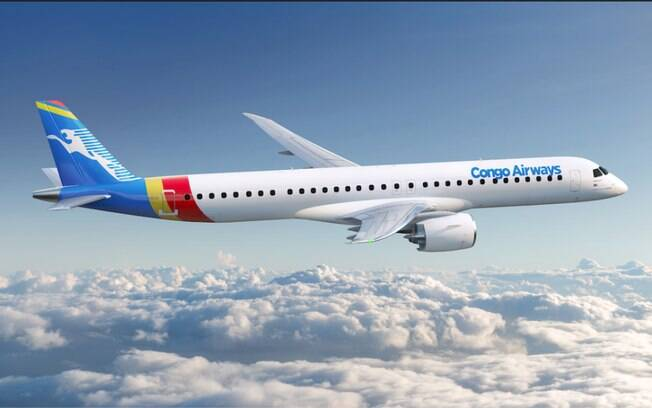 Embraer recebe novas encomendas da Congo Airways