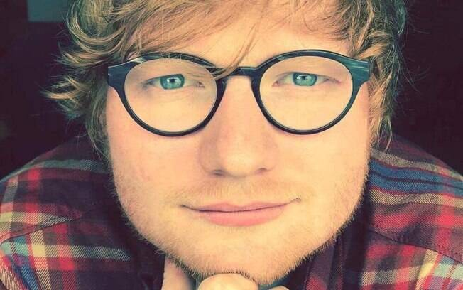 O cantor Ed Sheeran
