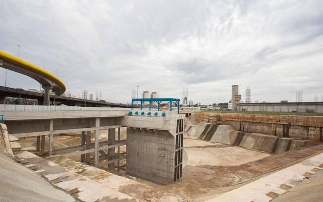 Segundo o governador Geraldo Alckmin, piscinão irá ajudar a evitar enchentes na Vila Prudente e Mooca