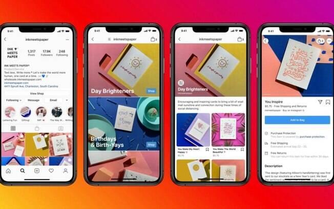 Instagram testa anúncios em sua ferramenta de e-commerce