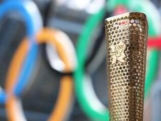 Tocha dos Jogos de Londres. O design da 'brasileira' ainda não foi revelado