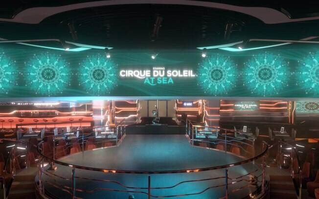 A MSC Cruzeiros possui uma parceria exclusiva com o Cirque du Soleil e conta com shows que são só apresentados no navio
