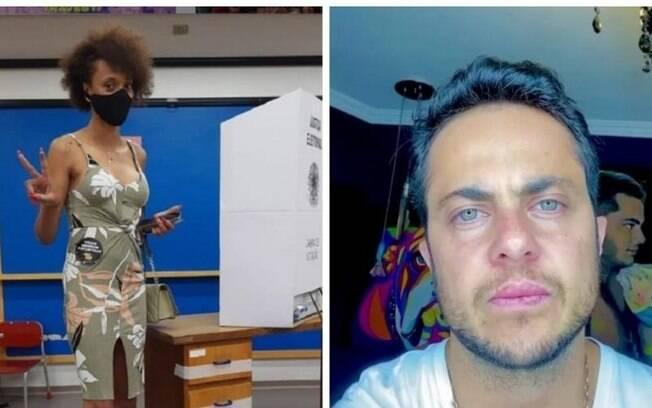 Erika Hilton (PSOL) e Thammy Miranda (PL)