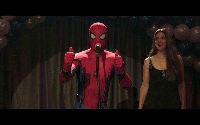 Cena de Homem-Aranha: Longe de Casa