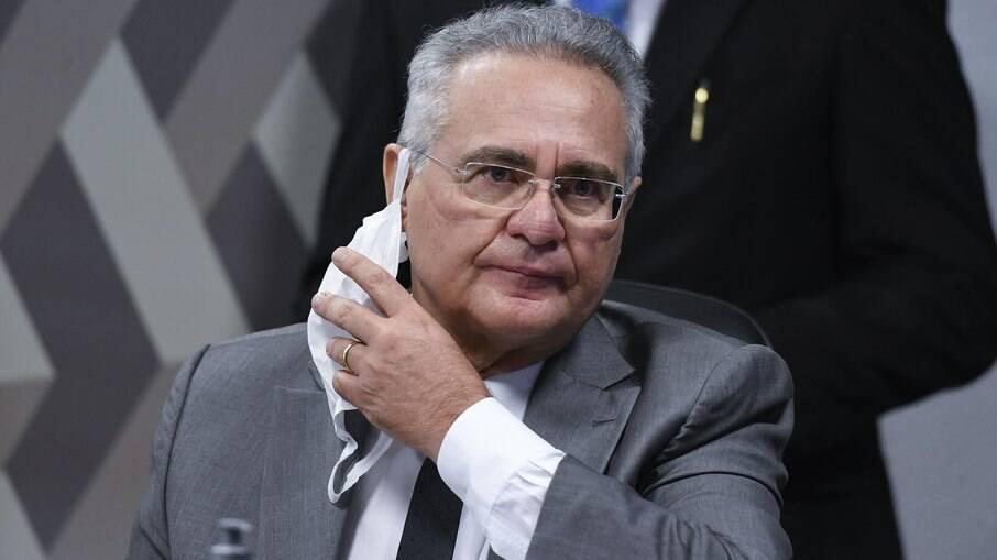 Senador e relator da CPI da Covid, Renan Calheiros (MDB-AL)
