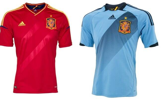 Qual seleção tem as camisas mais bonitas da Euro 2012  Veja e vote ... bf62046af99e9