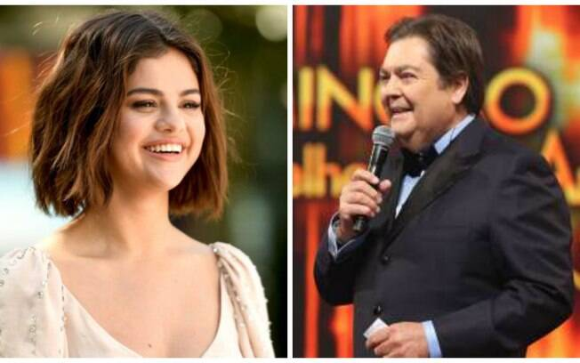 Selena Gomez e Faustão viram um casal em cena de trailer falso baseado em uma fanfic