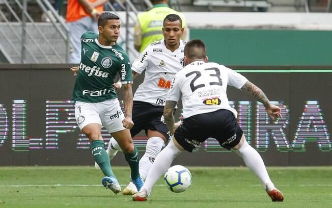 Palmeiras e Atlético-MG duelaram no Allianz Parque